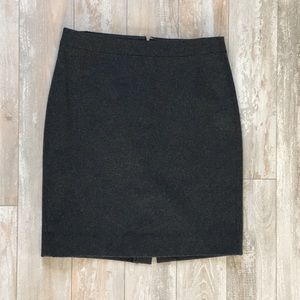 J. Crew Wool Pencil Skirt 6 ✏️
